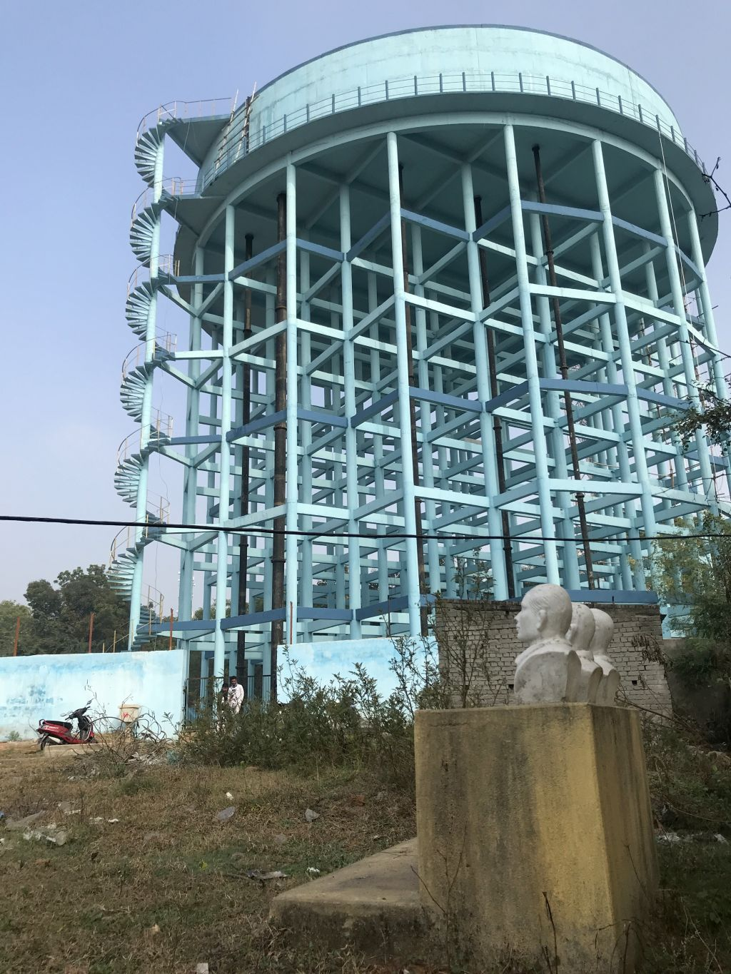 Construction for the water scheme is taking place on lands of deep cultural significance (Image: Anirudha Nagar, Accountability Counsel)