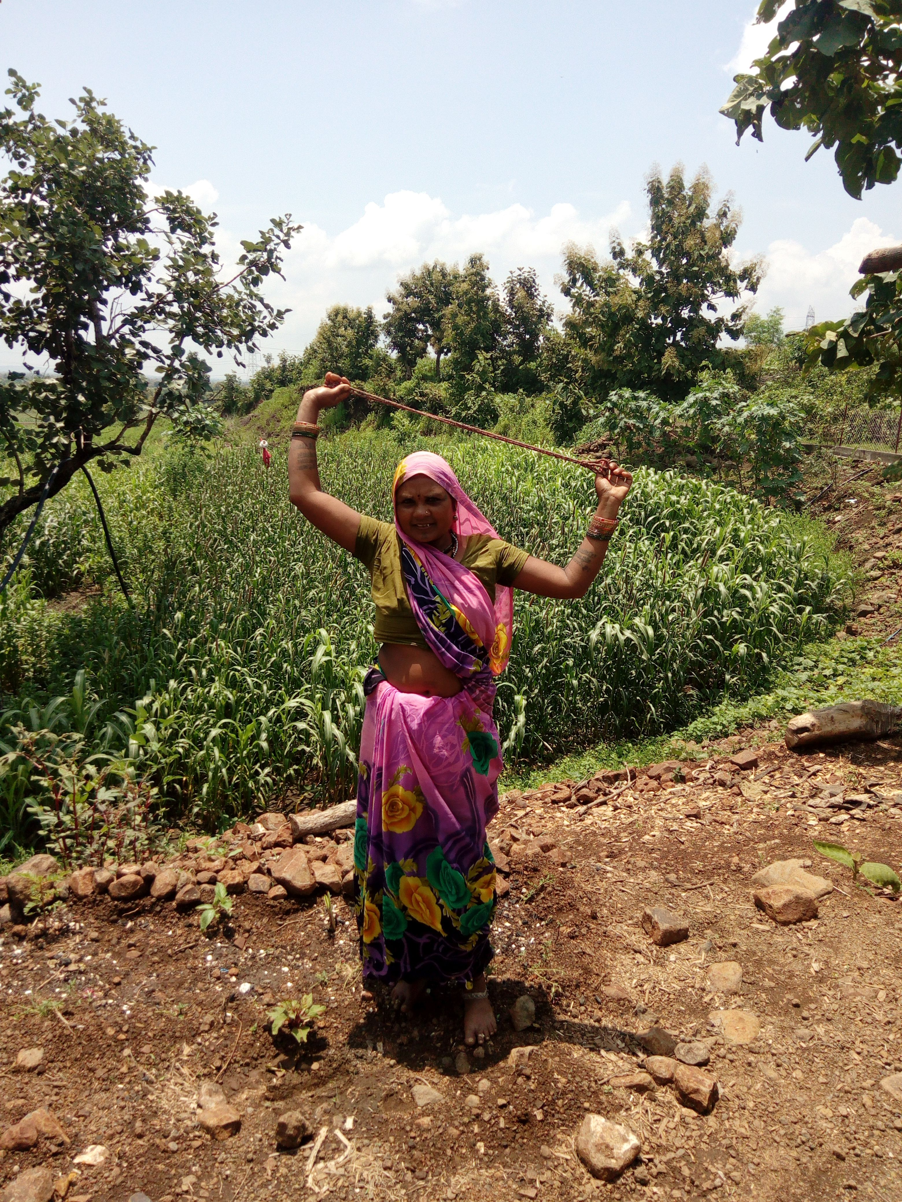 Women like Budi Bai from the village are protecting indigenous seeds that are on the verge of extinction while they are still available (Image: Majlis)