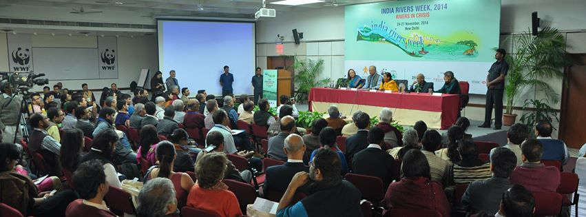 Deliberations at India Rivers Week