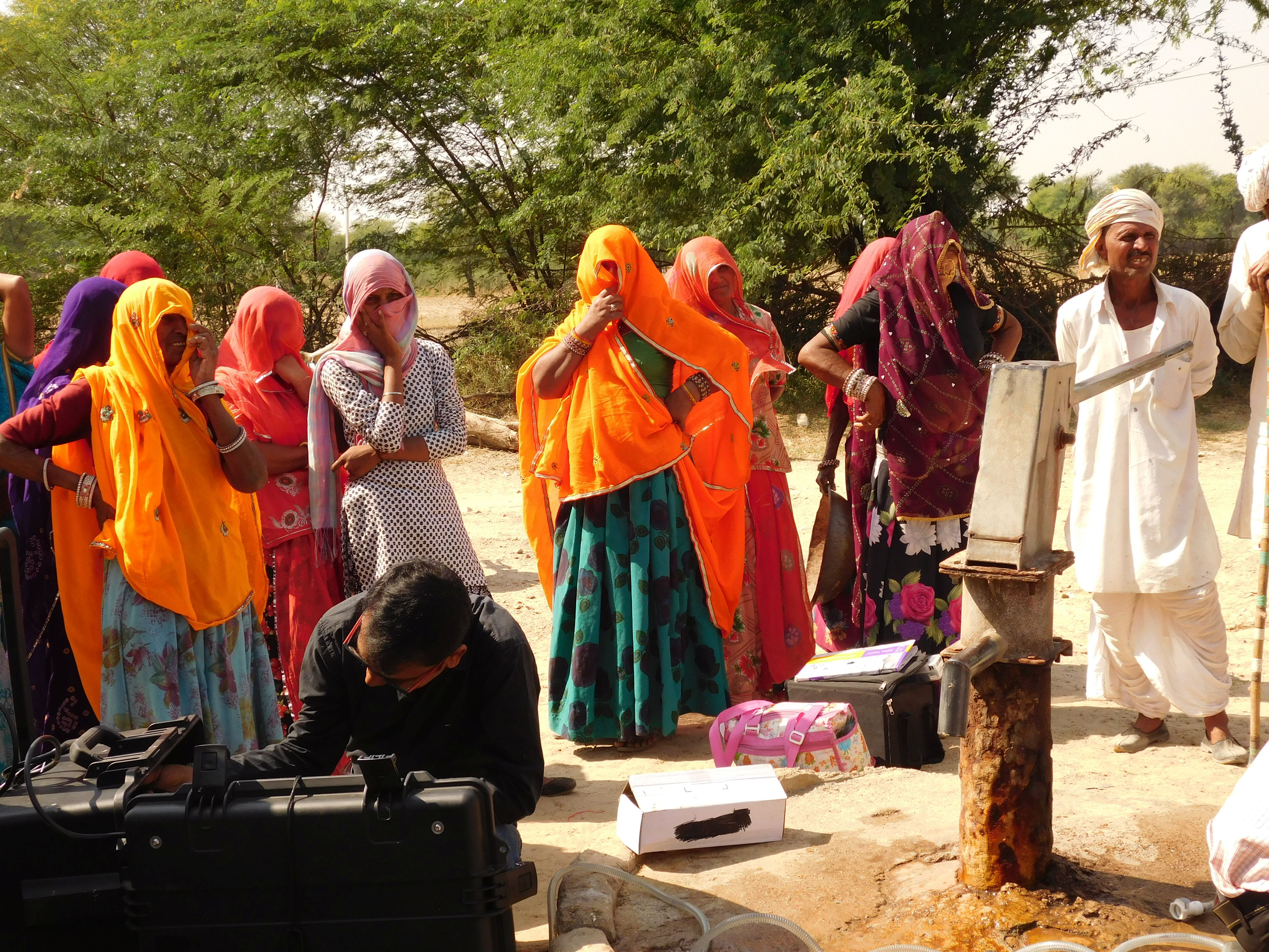 The villagers took help from Prayatna Sansthan to access clean drinking water.