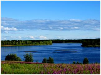 River Torne, One of the National Rivers of Sweden