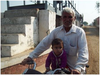 Anil Kumar Bishnoi like most people of the area fears for the safety of his family from a possible accident.