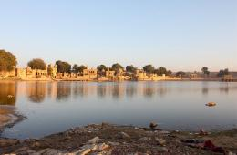 Gharisar lake in Jaisalmer, Rajasthan (Source: IWP Flickr photos)