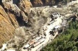 Flash Floods in Chamoli, Uttarakhand (Image Source: India.com)