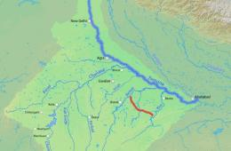 Map showing Ken-Betwa river link (Source: Shannon)