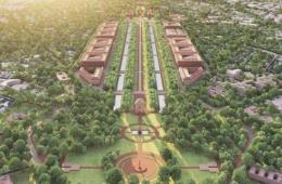 Rajpath's Central Vista Avenue project (Image: Students of Master in Sustainable Architecture at Central University of Rajasthan, Counterview)