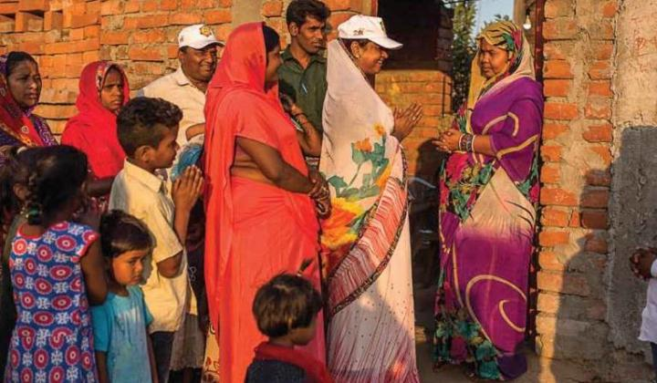 Swachhagrahis are the motivators for bringing about behaviour change concerning key sanitation practices in rural India. (Image: SBM)