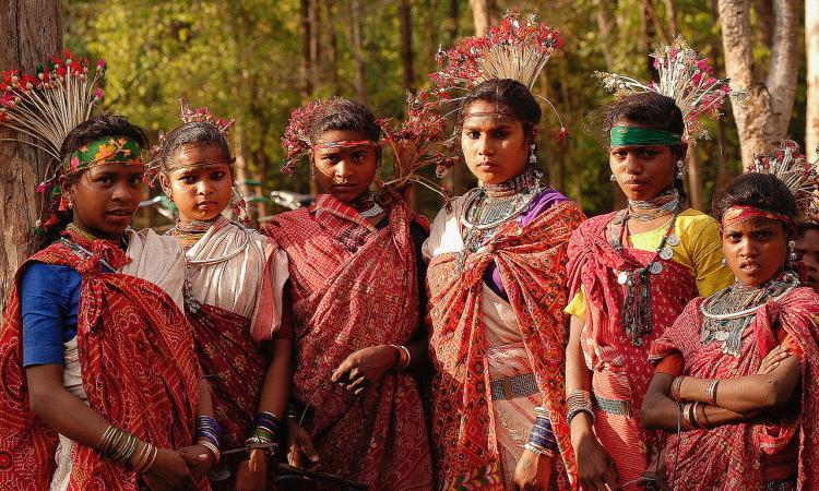 Indigenous groups that lived and helped maintain the forests for centuries have been undermined (Image: Baiga women, Wikimedia Commons; CC BY-SA 3.0)