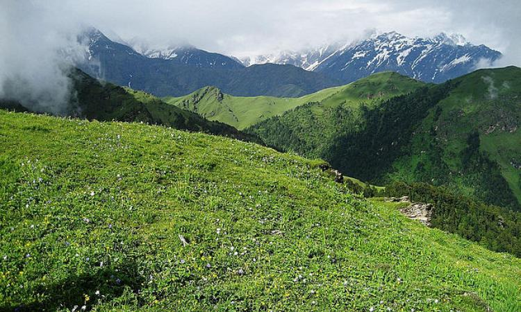 Auli Bugyal, a meadow in Uttarakhand. Auli Bugyal, a meadow in Uttarakhand. (Photo courtesy: Sandeep Brar Jat via Wikimedia Commons)