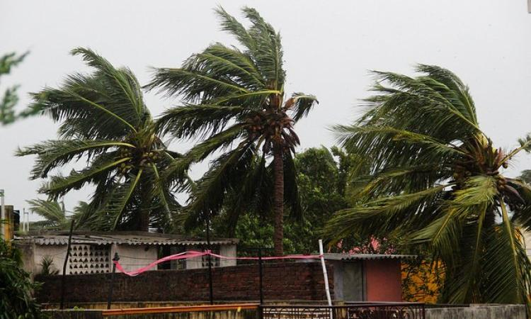 A cyclonic storm that hit India in 2016 (Image Source: IWP Flickr photos)