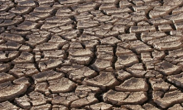 Climate change, poor rainfall and drought (Source: Wikimedia Commons)