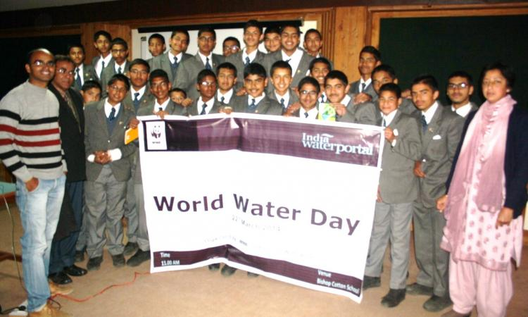 Participants at Bishop Cotton School, Shimla