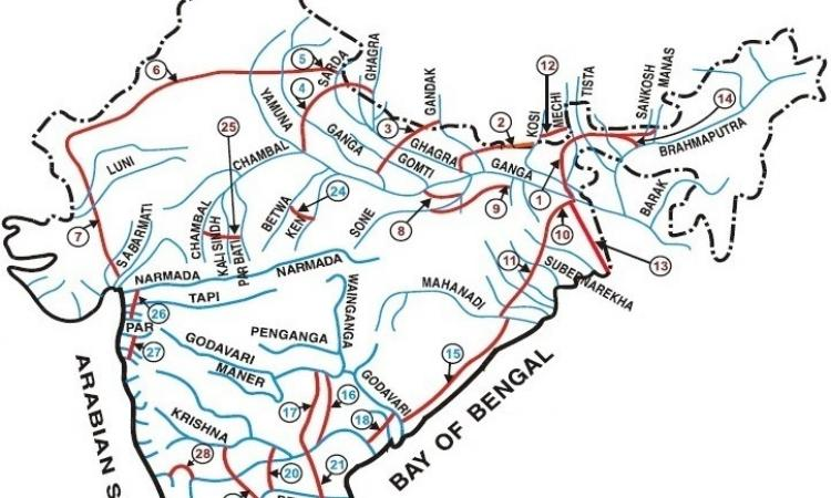 Interlinking of rivers (Source: NIH)